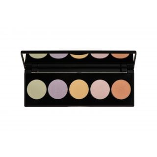 Korres Colour-Correcting Palette Activated charcoal Multi-Purpose 5.5gr Παλέτα Διόρθωσης Χρώματος