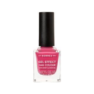 Korres Gel Effect Βερνίκι Νυχιών, 20 Pink Parfait Rose 11ml