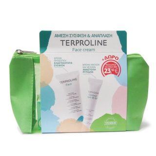 Synchroline Terproline Face Cream 50ml Κρέμα Σύσφιξης Προσώπου + ΔΩΡΟ Contour Eyes & Lips Cream Κρέμα Σύσφιξης για Μάτια και Χείλη 15ml