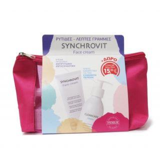 Synchroline Synchrovit Face Cream 50ml Αντιρυτιδική Κρέμα Ημέρας και Νύχτας + Cleancare Intimo 200ml Καθαριστικό για την Ευαίσθητη Περιοχή
