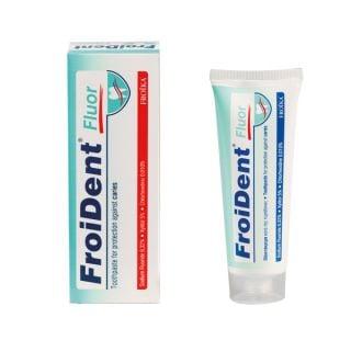 Froika Froident Fluor Οδοντόκρεμα με Φθόριο κατά της Τερηδόνας & της Πλάκας 75ml