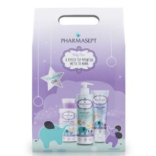 Pharmasept Christmas Promo Pack Baby Care Mild Bath 500ml & Micellar Water 300ml & Extra Calm Cream 150ml