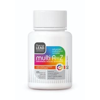 Pharmalead Multi A to Z 60κάψουλες Ολοκληρωμένο Σύμπλεγμα Πολυβιταμινών