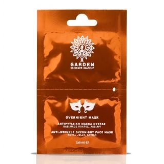 Garden Overnight Mask 2x8 ml Αντιρυτιδική Μάσκα Νύχτας