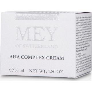 Mey AHA Complex Cream 50 ml Αντιγηραντική Κρέμα Νύχτας