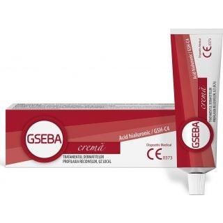 Meditrina Gseba Crema 30ml Κρέμα GSH-C4 Υαλουρονικό  Για Τη Θεραπεία Δερματίτιδας