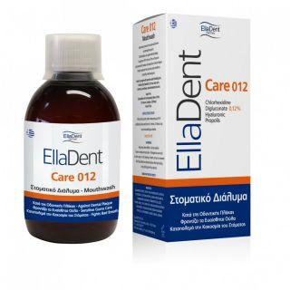 EllaDent Care 012 Στοματικό Διάλυμα κατά της Οδοντικής Πλάκας, της Τερηδόνας και της Κακοσμίας του Στόματος 250ml