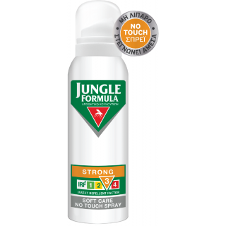 Jungle Formula Strong Soft Care No Touch Isect Repellent Spray 125ml Αντικουνουπικό Σπρέι