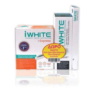 iWhite Express Stain Eraser 1 Item & Free Dark Stains Toothpaste 75ml & Dark Stains Toothbrush 1 Item