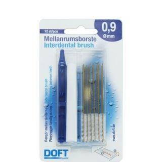 Doft Interdentals Μεσοδόντια Βουρτσάκια 0.9 12τεμάχια