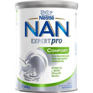 Nestle Nan Expert Pro Comfort Γάλα σε Σκόνη για τη Δυσκοιλιότητα 400gr 0m+