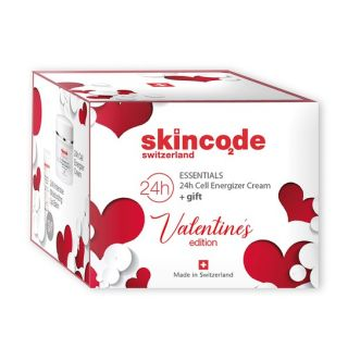 Skincode Valentine's Edition Skincode 24H Cell Energizer Cream 50ml + Δώρο Skincode Essentials 24H Intensive Moisturizing Lip Balm 10ml