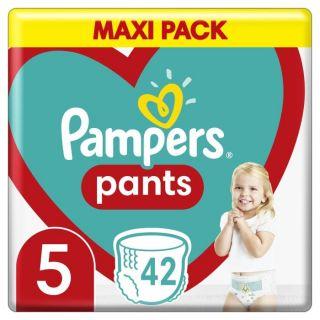 Pampers Pants Maxi Pack No 5 (12-17kg) Βρεφικές Πάνες Βρακάκι 42τμχ