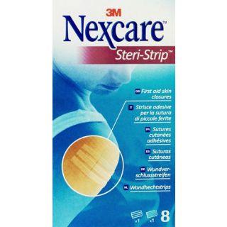 3M Nexcare Steri-Strip Σετ Ταινιών Σύγκλισης Δέρματος 3mmX7.5cm & 6mmX7.5cm