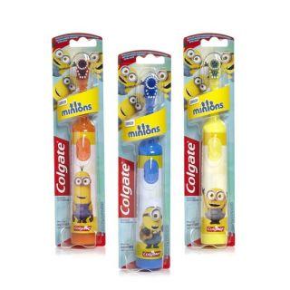 Colgate Οδοντοβουρτσα Παιδική Μπαταριας Μαλακή Minions