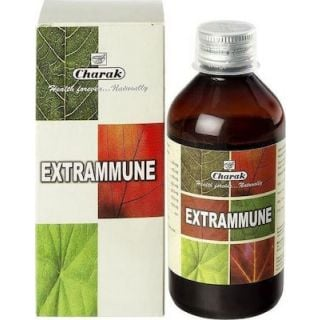 Charak Extrammune Syrop 200ml Φυσικό Συμπλήρωμα διατροφής για την Ενίσχυση του Ανοσοποιητικού Συστήματος