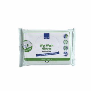 Abena Wet Wash Gloves
