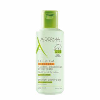 A-Derma Exomega Control Emollient Cleansing Gel 200ml