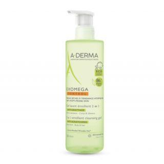 A-Derma Exomega Control Emollient Cleansing Gel 2 in 1 500ml