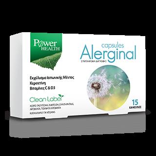 Power Health Alerginal 15 Κάψουλες Συμπλήρωμα Διατροφής για την Αντιμετώπιση της Αλλεργίας