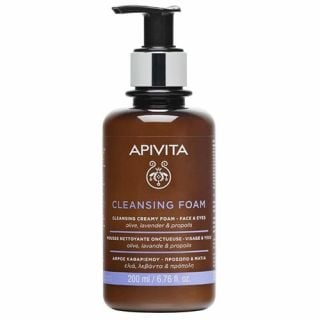 Apivita Cleansing Foam 200ml