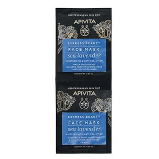 Apivita Express Beauty Mask Sea Lavender 2 x 8ml