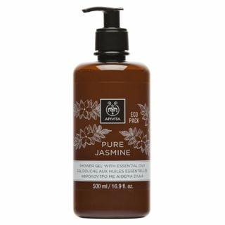 Apivita Eco Pack Pure Jasmine Shower Gel 500ml