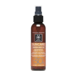 Apivita Suncare Tanning Body Oil SPF30 150ml