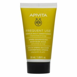 Apivita Mini Hair Softening Conditioner for all Hair types with Chamomile & Honey 50ml