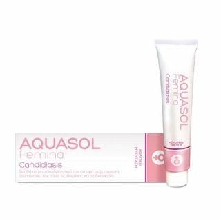 Aquasol Femina Candidiasis Cream-Gel 30ml