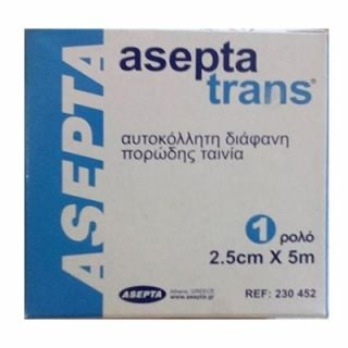 Asepta Aseptatrans 2.5cm x 5m