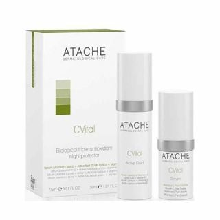 Atache C Vital Set Active Serum 15ml + Fluid 30ml