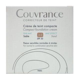 Avene Couvrance Creme de Teint Compacte FINI MAT SPF30 10gr 3.0 Sable Make-up