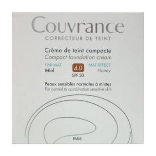 Avene Couvrance Creme de Teint Compacte FINI MAT SPF30 10gr 4.0 Miel Make-up