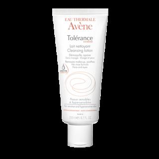 Avene Tolerance Extreme Lait Nettoyante 200ml Γαλάκτωμα Καθαρισμού για Πρόσωπο & Μάτια