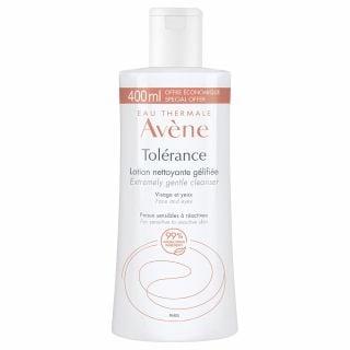 Avene Tolerance Lotion Nettoyante Gelifiee 400ml Λοσιόν Καθαρισμού & Ντεμακιγιάζ για το Υπερευαίσθητο προς Αντιδραστικό Δέρμα