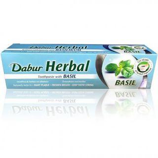 Dabur Herbal Toothpaste Φυτική Αγιουρβεδική Οδοντόκρεμα Βασιλικός 100ml