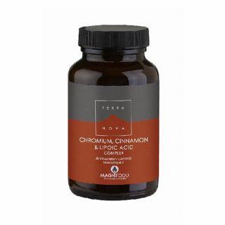 Terranova Chromium & Cinnamon & Lipoic Acid Complex 50 Caps