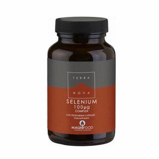 Terranova Selenium 100μg 100 Caps