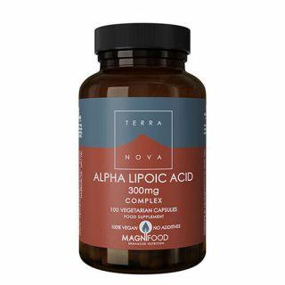Terranova Alpha Lipoic Acid 300mg Complex 100 Caps