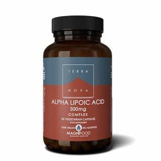 Terranova Alpha Lipoic Acid 300mg Complex 50 Caps