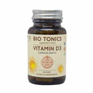 Bio Tonics Vitamin D3 2000IU 60 Caps