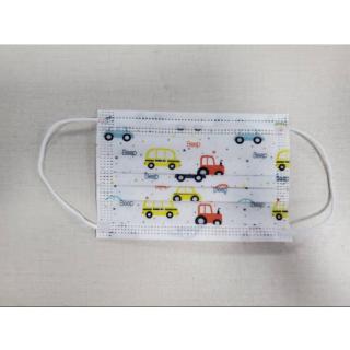 10 τεμάχια Παιδικές Χειρουργικές μάσκες 4-12 ετών Μίας Χρήσης, Αυτοκινητάκια