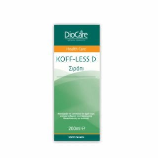 DioCare Koff-Less D Syrup 200ml