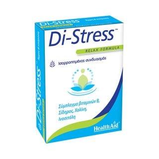 Health Aid Di-Stress 30 Tabs Μείωση Άγχους