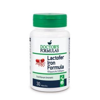 Doctor's Formulas Lactofer Iron Formula 30 Caps