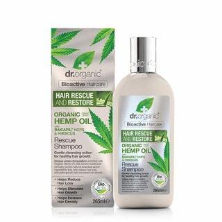 Dr. Organic Organic Hemp Oil Rescue Shampoo 265ml