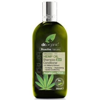 Dr. Organic Organic Hemp Oil Shampoo & Conditioner 265ml
