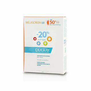 Ducray Melascreen Creme Legere SPF50+ 2 x 40ml
