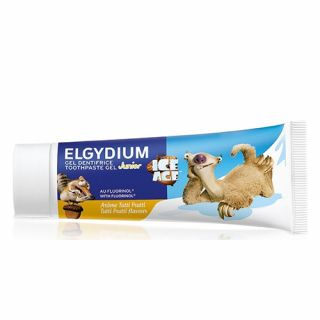 Elgydium Junior Ice Age Toothpaste Tutti Frutti 50ml